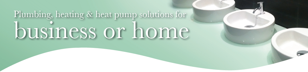 Plumbing, Heating and Heat Pump Solutions for the home and business
