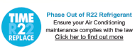 Phase out of R22 Refrigerant - find out more